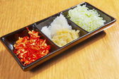 Sushi spice on plate — Stock Photo