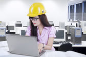 Young designer working on laptop 1 — Stockfoto