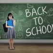 Attractive student back to school 3 — Stock Photo #49862029