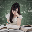 Student start to study in class — Stock Photo #49869593