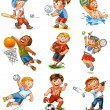 Child participation in sports — Stock Photo