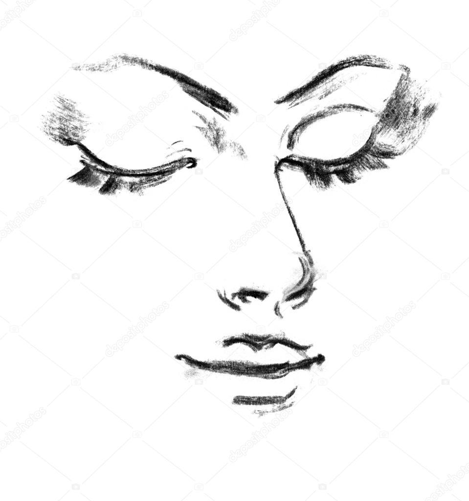 рисунок силуэт: