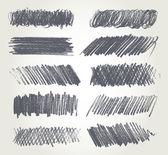 铅笔素描 — 图库矢量图片