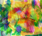Abstract guasch painting — Stock Photo