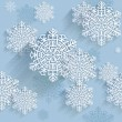 Snowflakes - Image vectorielle