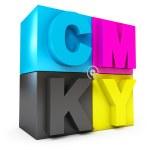 CMYK concept — Stock Photo #17831247