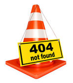 Concept 404 error — Stock Photo