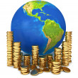 Global economy. Conceptual illustration — Stock Photo
