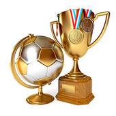 Gold cup winner — Stockfoto