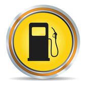 Bränsle-ikonen — Stockvektor