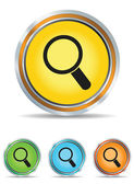 Search icons set — Stock Vector