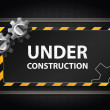 Under construction background — Stock Vector #13975066