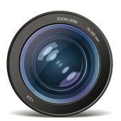 Camera photo lens — Stock Vector