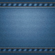Jeans background — Stock Vector #18570787