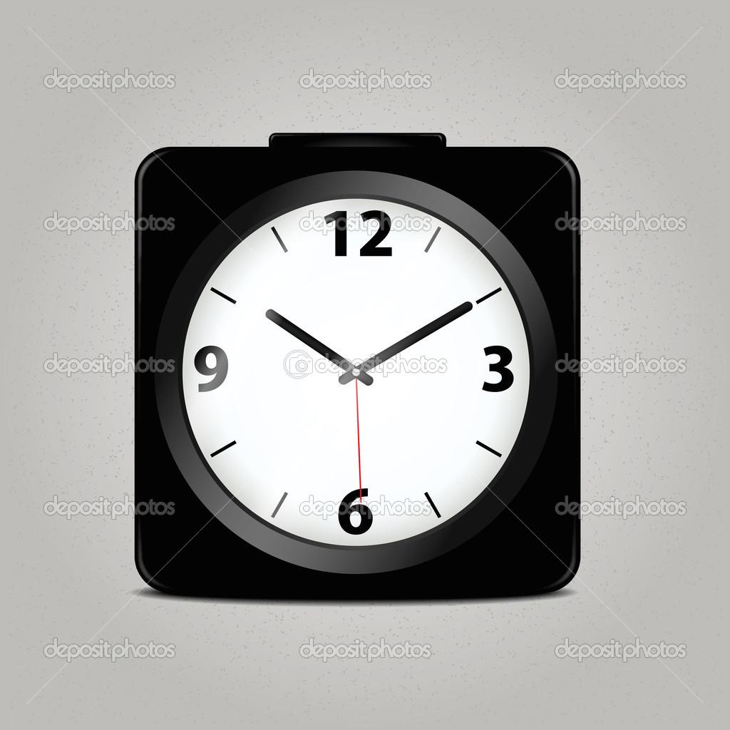 Часы механические квадратные 8 фотография