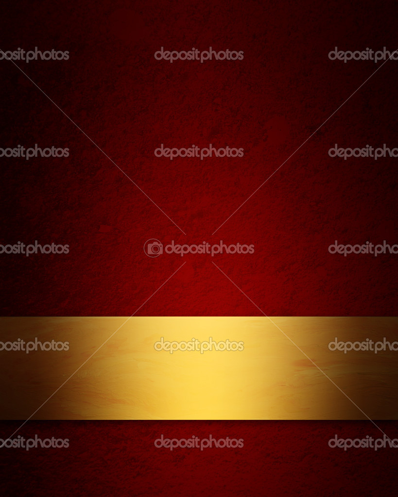 Elegant red and gold Christmas background - Stock ImageElegant Red And Gold Background