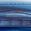 Website Web Design background — Image vectorielle