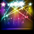 EPS10 Vector Stage Lights — Stock Vector