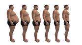 Man diets, fitness design — Stock Photo