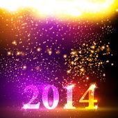 Happy new year 2013 colorful celebration vector design, easy edi — Stock Vector