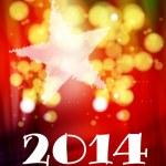 Happy New Year Card — Stock Vector