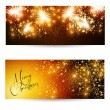Elegant Christmas layout — Stock Vector