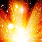 Wektor złoty Boże Narodzenie lub tło świecidełka — Wektor stockowy