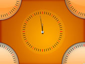 Simple Clock Background — Stock Photo