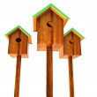 Nesting boxes - Stock Photo