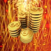 O dinheiro para as férias! — Foto Stock