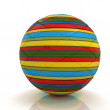 3d colored ball — Stock Photo