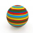 3d colored ball — Foto de Stock