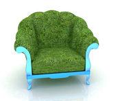 Herbal armchair — Stock Photo