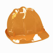 Hard hat isolated on white background — Stock Photo