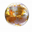 Puzzle abstract sphere — Stock Photo #26447535