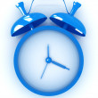 3D illustration of alarm clock icon — Stock Photo