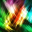 Abstract colored strokes on a black background — Stock Photo #30285505