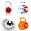 Lock set  — Stock Photo
