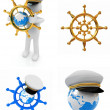 Stock Photo: Boat trips set