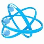 3d atom — Stock Photo #34341335