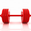 Stockfoto: Realistic dumbbell