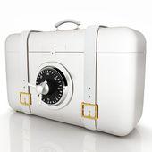 Suitcase-safe. — Stock Photo