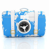 Suitcase-safe for travel — Foto Stock