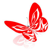 Abstract butterfly design — Stockfoto