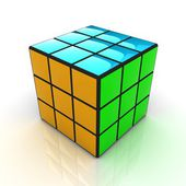 Abstract colorfull geometric background — Stock Photo