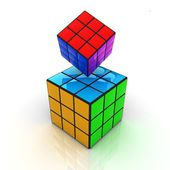 Abstract colorfull geometric background — Stockfoto