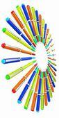 Corporate pen design  — Stock Photo