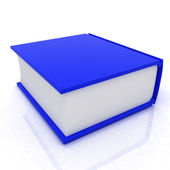 Libro blu — Foto Stock