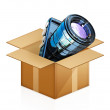 Camera out of the box — Stock Photo #49610495