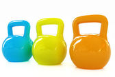 Colorful weights  — Stockfoto